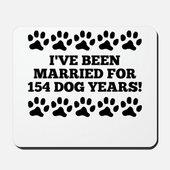 22nd Anniversary Dog Years Mousepad