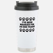 20th Anniversary Dog Years Travel Mug
