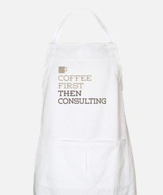 Coffee Then Consulting Apron