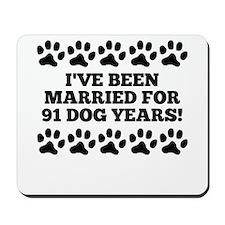 13th Anniversary Dog Years Mousepad