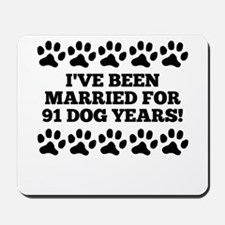 13th Anniversary Dog Years Mousepad