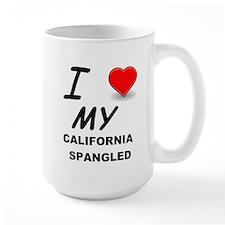 california spangled love Mugs