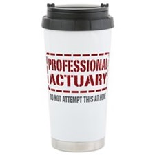 Cute Be a actuary Thermos Mug