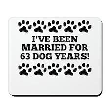 9th Anniversary Dog Years Mousepad