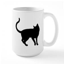 california spangled silhouette Mugs