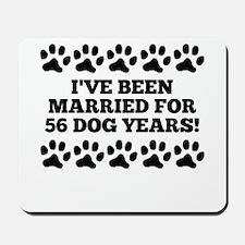 8th Anniversary Dog Years Mousepad