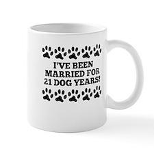3rd Anniversary Dog Years Mugs