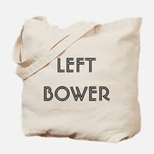Euchre Left Bower Tote Bag