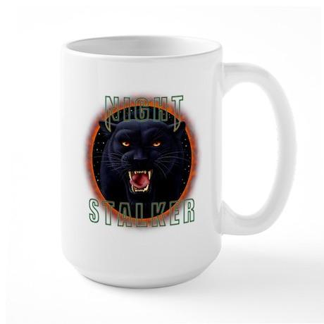 Night Stalker 1 Large Mug
