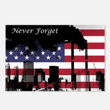 September 11 Never Forget Postcards (Package of 8)