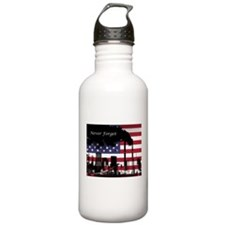 September 11 Never For Water Bottle