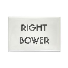 Euchre Right Bower Rectangle Magnet