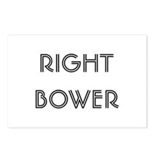 Euchre Right Bower Postcards (Package of 8)