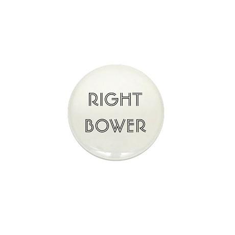 Euchre Right Bower Mini Button