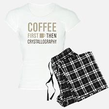 Coffee Then Crystallography Pajamas