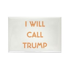 Call Trump Euchre Rectangle Magnet