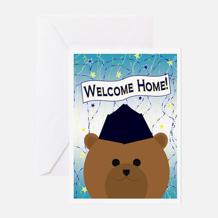 Welcome Home Air Force Airman Garris Greeting Card