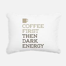 Coffee Then Dark Energy Rectangular Canvas Pillow