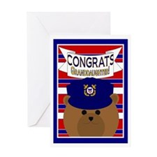 Congrats Granddaughter Coast Greeting Card