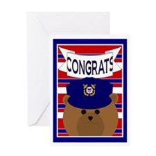 Coast Guard Coastie Congrats Greeting Card