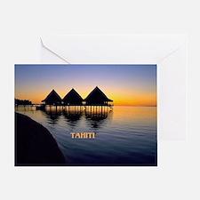 Unique Tahiti Greeting Card