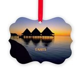 Tahiti Picture Frame Ornaments