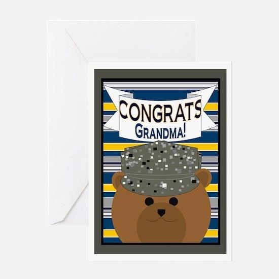 Congrats Grandma Air Force Airman Greeting Card