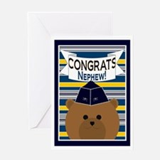 Congrats Nephew Air Force Officer Greeting Card