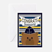 Congrats Granddaughter Air Force Greeting Card