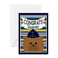 Blank - Congrats Daughter Air Force Greeting Card