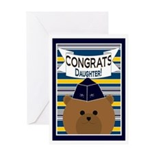 Congrats Daughter Air Force Officer Greeting Card
