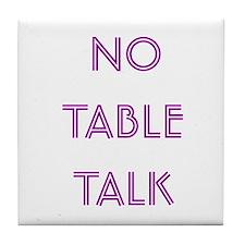 Euchre Table Talk Tile Coaster