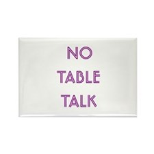 Euchre Table Talk Rectangle Magnet