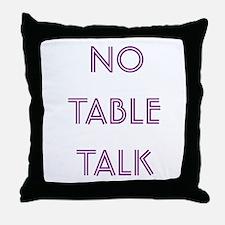 Euchre Table Talk Throw Pillow