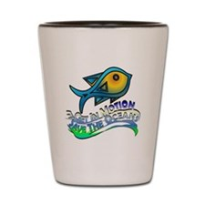 Save The Oceans Shot Glass