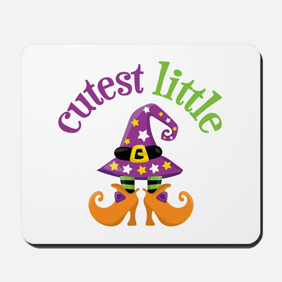 Cutest Witch Mousepad