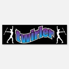 Twirler Bumper Car Car Sticker