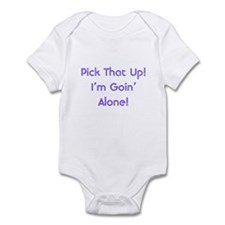 Pick Up Going Alone Infant Bodysuit
