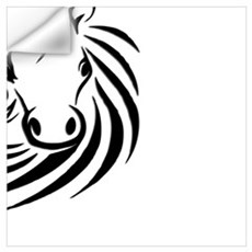 Black Horse  Wall Decal