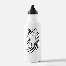 Black Horse  Water Bottle