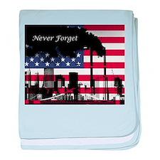 September 11 Never Forget baby blanket