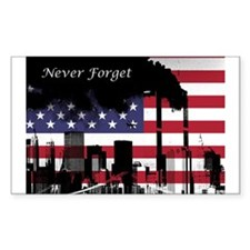 September 11 Never Forget Decal
