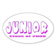 Junior Class of 2009 Oval Decal
