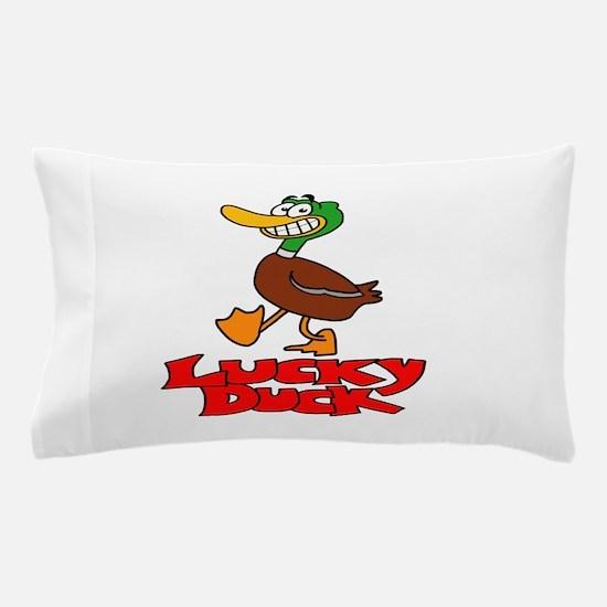 Lucky duck Pillow Case
