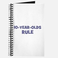 10-Year-Olds~Rule Journal