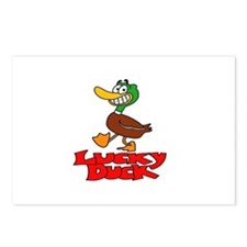 Lucky duck Postcards (Package of 8)
