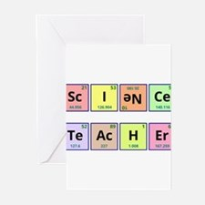 Cute Periodic table Greeting Cards (Pk of 20)
