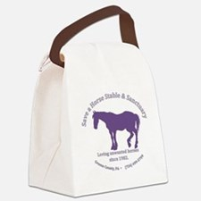 Save A Horse Stable Canvas Lunch Bag