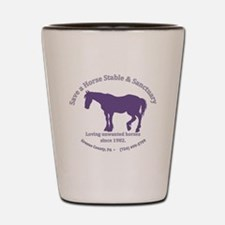 Save A Horse Stable Shot Glass