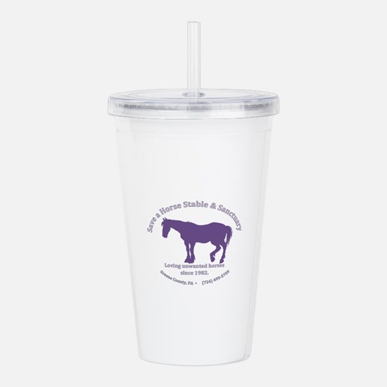 Save A Horse Stable Acrylic Double-wall Tumbler